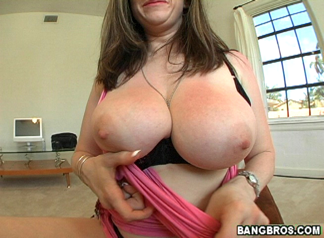 Naturaly busty woman