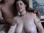 boobsquad: Gothic Bitch Gets Some Cock